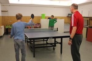 Tischtennistraining